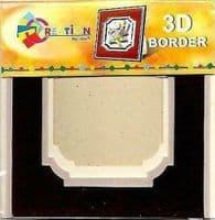 Creation By TBZ Card Making Decoupage 3D Border Mount  521136